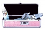 Lockable Vibrator Case (Small) - Pink