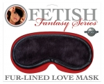 Fur-Lined Love Mask