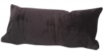 Petite Plush Hide Your Vibe Pillow - Black